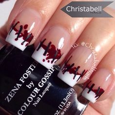 """@christabellnails #halloweennails  www.colourgossipnails.com.  #nails #fashion #funfashion #nailart #naillacquer #colour #color #polish #cosmetics #charities #causes  #beauty #opi #essie #chinaglaze #zoya #nailpolish #gossip #nailvideo #colourgossip #colourgossipnails #dailynailart #colourgossippolish #Manicures #nailartvideo #nailsvideo #followme #fashionvideo #dontjustwearacolorwearacause COLOUR GOSSIP... """"WHERE ITS GOOD TO LOVE GOSSIP""""! COLOUR yourself in Gossip!!! **Some polish featured, maybe of another brand**"""