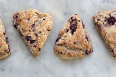 Whole Wheat Blackberry Ricotta Scones