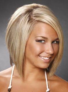 Wispy Concave Bob Hair Cut
