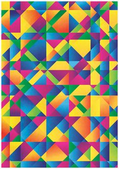 Create a Colorful Abstract Poster in Illustrator // Spoongraphics