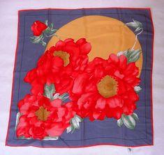 Silk Poppy Moon Scarf, eBay