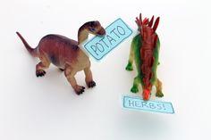 Garden markers :: dinosaurs