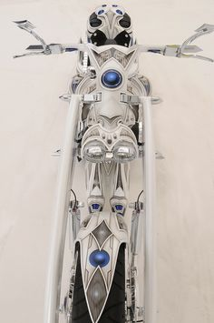 Area51 Custom Harley-Davidson Motorcycle by Wikked Steel