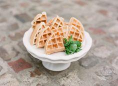 #appetizer, #brunch, #waffles    Read More: http://www.stylemepretty.com/living/2013/10/18/velveteen-rabbit-baby-shower-by-simply-charming-socials/