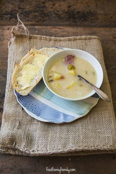 Beer Cheese Ham and Potato Soup #recipe via FoodforMyFamily.com
