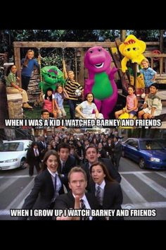 Barney and Friends!