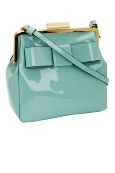 The Shoulder Bag: Orla Kiely Patent Leather Holly Bag, $398; amazon.com