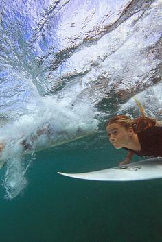 Duck. #surfing