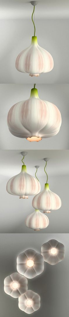 Garlic droplight