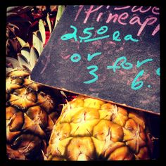 Anyone up for some fresh #Hawaii pineapple? #gohawaii #food #cuisine
