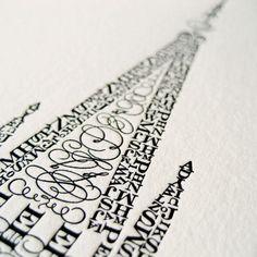 typography - angle, photo