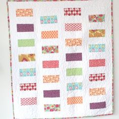 Cluck Cluck Sew: Colorful Coins Baby Quilt