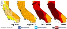 The CA drought - from bad to worse to horrible