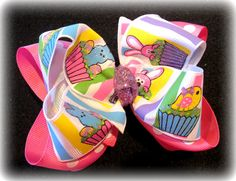 Sparkle PEEPS Bunny Glitter Double Layered by MyBellaBellaBowtique, $5.99