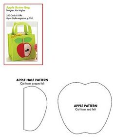 apple pattern Throwback Thursday: Back to School Gift Set