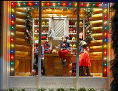 Get in the holiday spirit with the family of Polo Bears at our Madison Avenue Boys and Girls store.