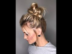 (65) Easy quick Updo