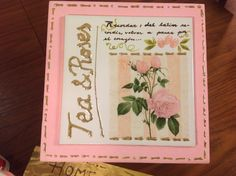 tea and roses Martha Cacacio www.manosalaobra.tv