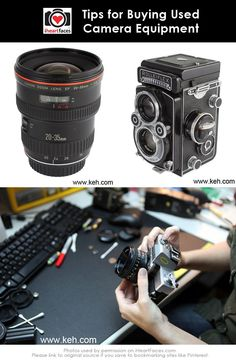 Tips for Buying Used Camera Equipment - http://www.iheartfaces.com/2013/09/tips-for-buying-used-camera-equipment/