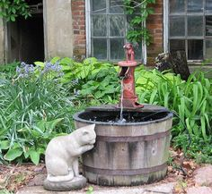 good idea for a water feature