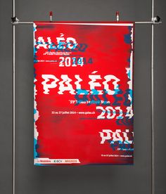 type-lover: Paléo Festival Nyon 2014 byKraafts, via SerialThriller™