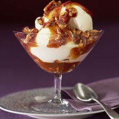 Praline ice cream sauce - keeps in the fridge for 1 week...but it rarely lasts that long!