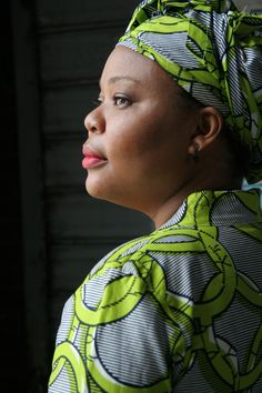 """Leymah Gbowee, Liberian peace activist and leader of the Women's Peace Movement, credited with ending the 2nd Liberian Civil War in 2003.  Received the 2011 Nobel Peace Prize for the """"non-violent struggle for the safety of women and for women's rights to full participation in peace-building work."""""""