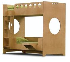 Marino Bunk Bed by Casa Kids. Made from all-natural birch plywood    #design, #natural_child_world, #eco