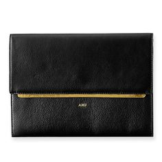 Leather Envelope Clutch | Mark and Graham