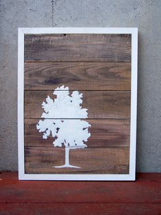 DIY pallet wall art!
