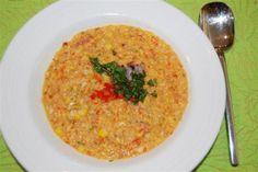 Chef Meg's Grilled Corn Soup