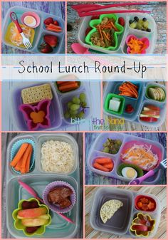 School (and Preschool!) Lunch Round-Up | with @EasyLunchboxes containers.