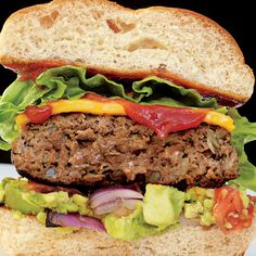 black bean burgers: 1can black beans, 1/2 cup oats, 1 egg, 2 cloves garlic, 1/4 tsp pepper... Can also add 1 Tbs cumin and 1.5 cup mushroom.    Process until mixed and shape into patties