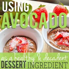 Daily Mom » Using Avocado as a Dessert Ingredient