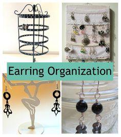 Earring Organization