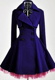 Double-Breasted Charm Coat/Dress
