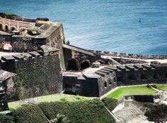 """An important landmark;  Castillo San Felipe del Morro.  This place is also known as the """"Fort San Felipe Morro Castle"""". This is located in San Juan, Puerto Rico."""