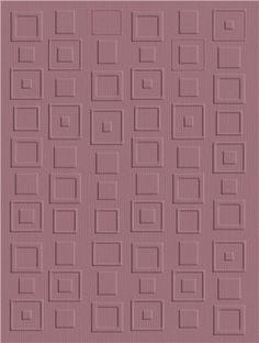 Retro Squares QuicKutz embossing folder
