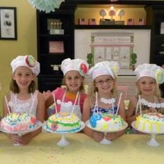 Cake Boss Themed birthday Party