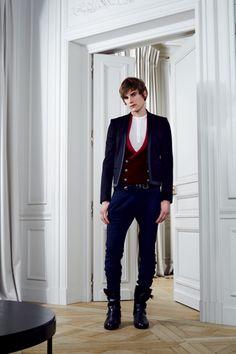 Balmain Fall 2012 Menswear