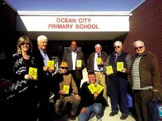 Members of the Ocean City-Upper Township Rotary Club delivered dictionaries to the Ocean City Primary third-grade students. This is an annual project to help promote literacy.