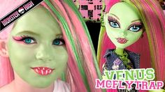 Venus McFlytrap Monster High Doll Costume Makeup