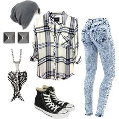 """Boyish and punk"" by sabrina227 on Polyvore"
