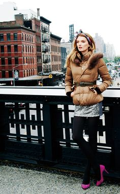 Lily Donaldson for Goelia Travel Collection Winter 2012 #lookbook
