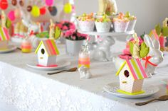 Easter bird houses
