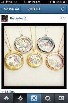 origamiowl, owl locket, rose gold