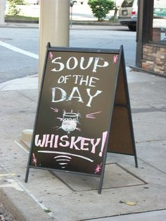 Signs that know what you really need | 18 Funny Restaurant Signs