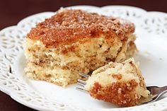 Recipe: LOW FAT Coffee Cake To Die For
