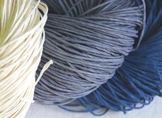 Superthick Blue-Gray Paper Twine