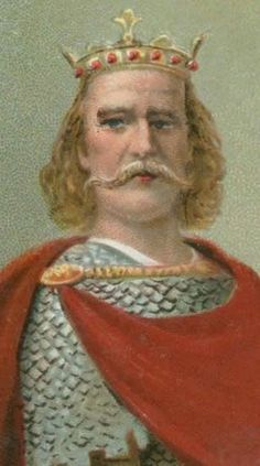 King Harold II, the last Anglo-Saxon king of England, from January to October 1066. He was defeated and killed by William of Normandy (William the Conqueror) at the famous Battle of Hastings.  My favorite King of England